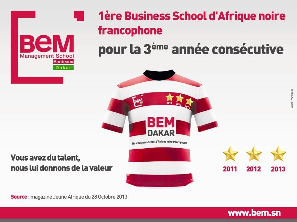 BEM Dakar, meilleure Business School d'Afrique noire francophone