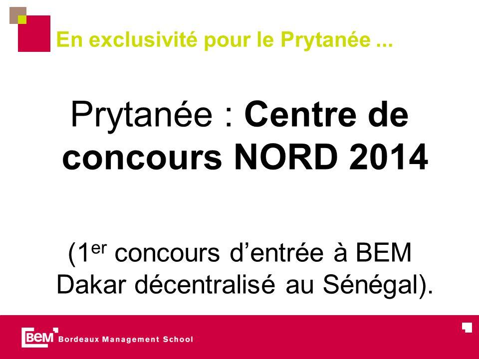 Prytanée : Centre de concours NORD 2014