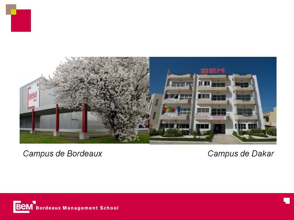 06/04/2011 Campus de Bordeaux Campus de Dakar