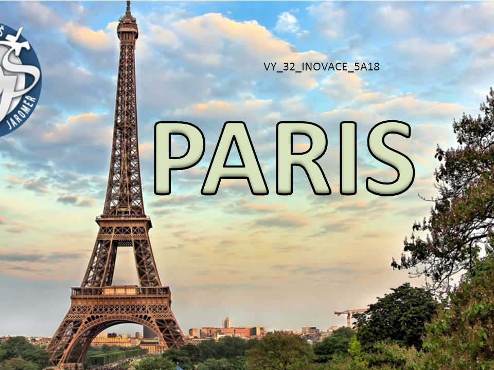 PARIS VY_32_INOVACE_5A18