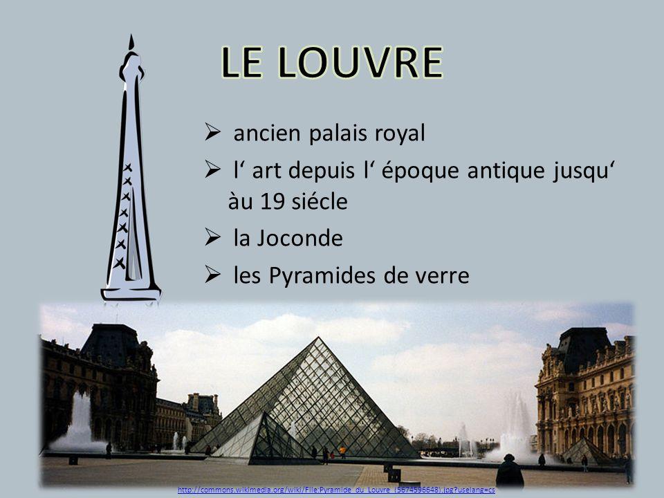 LE LOUVRE ancien palais royal