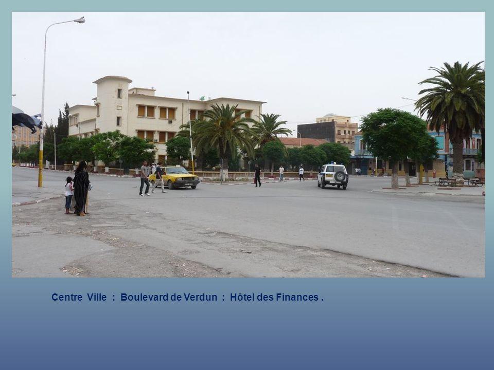 Centre Ville : Boulevard de Verdun : Hôtel des Finances .