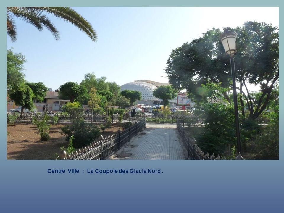 Centre Ville : La Coupole des Glacis Nord .