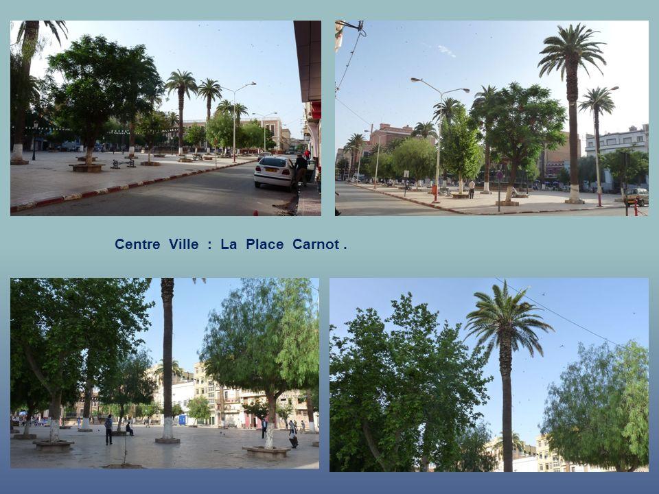 Centre Ville : La Place Carnot .