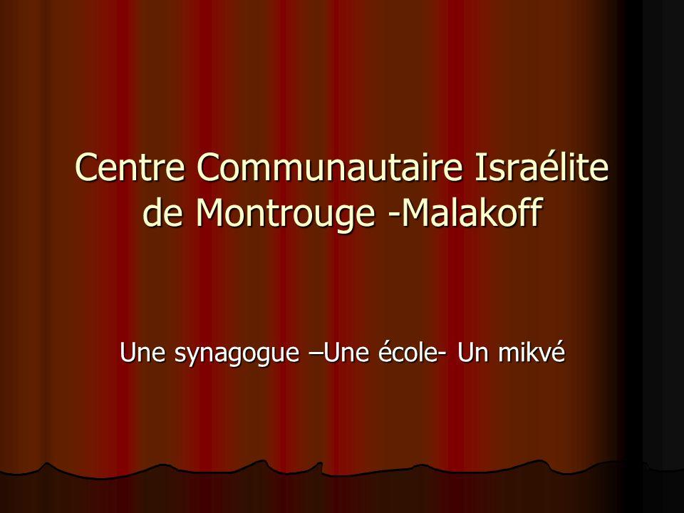 Centre Communautaire Israélite de Montrouge -Malakoff