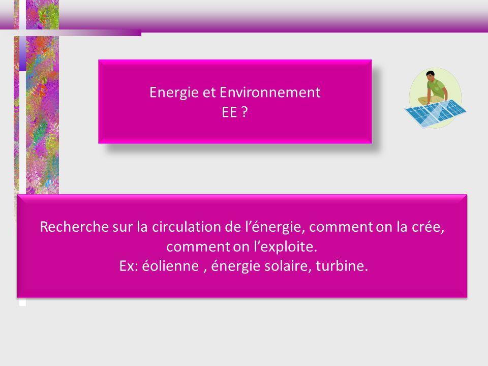 Energie et Environnement EE