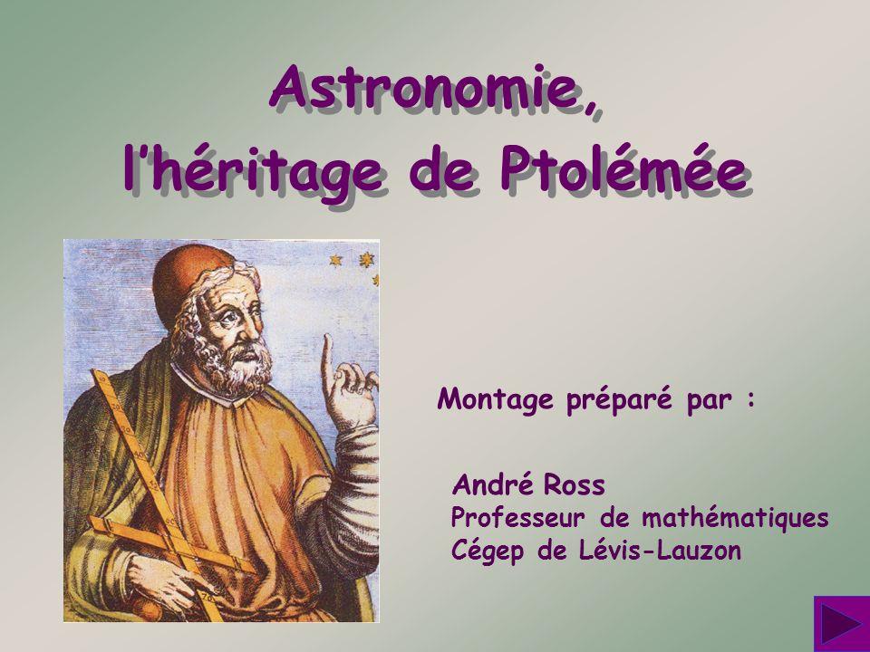 l'héritage de Ptolémée