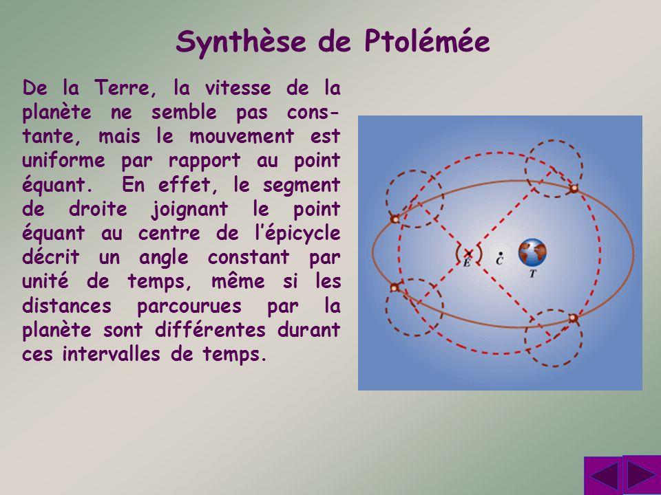Synthèse de Ptolémée