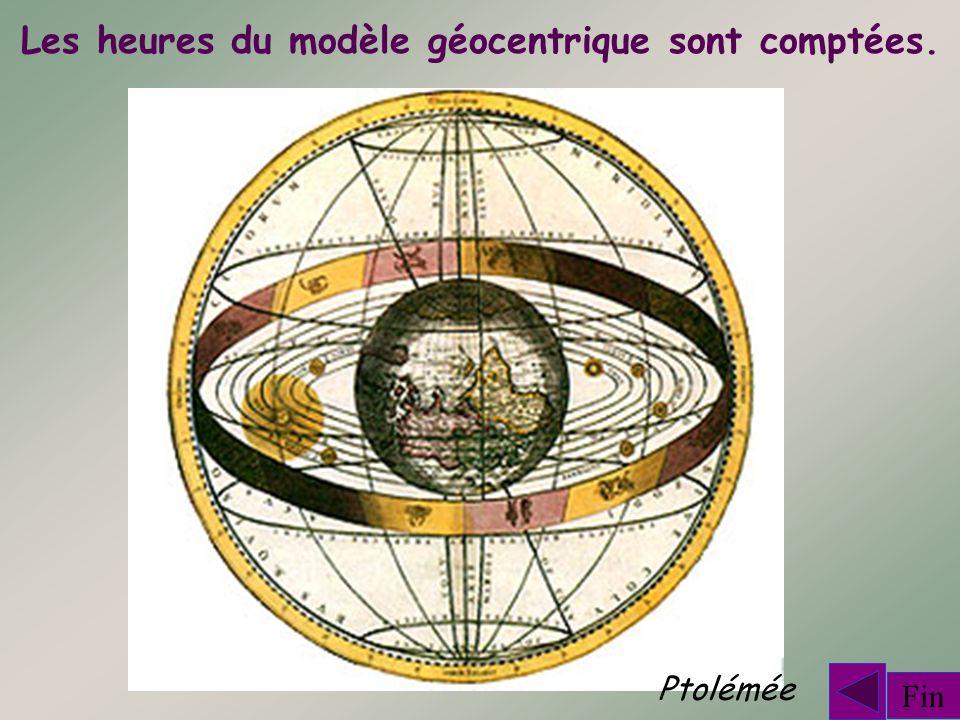 Les heures du modèle géocentrique sont comptées.