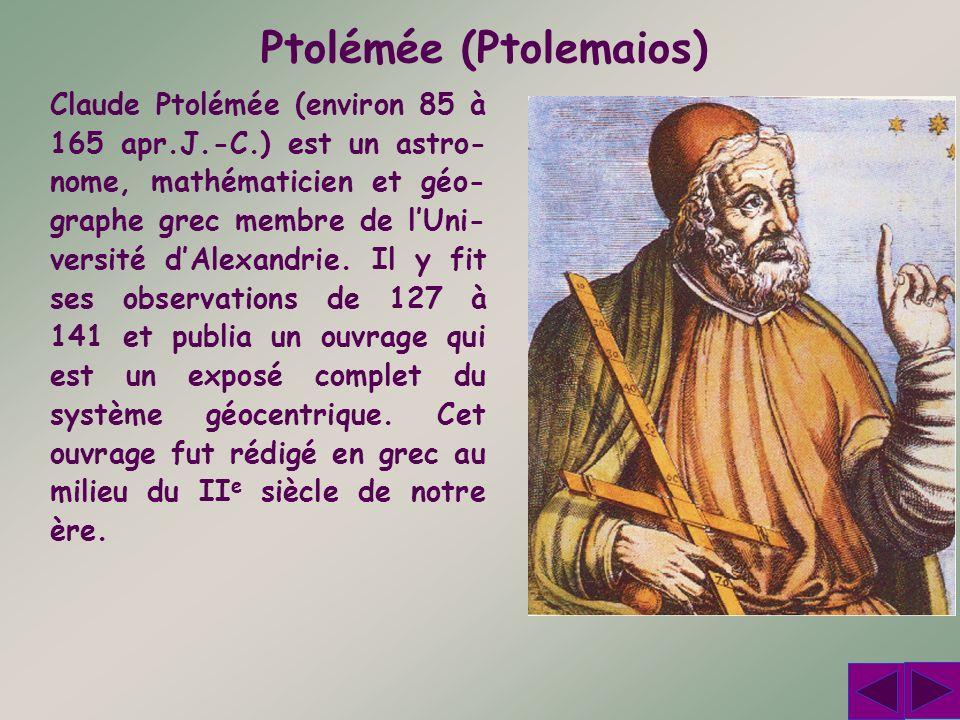 Ptolémée (Ptolemaios)