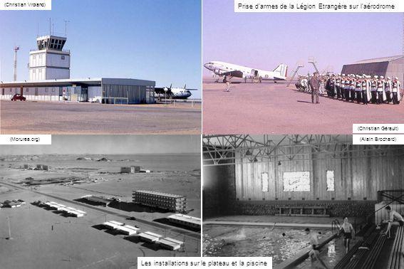 Prise d armes de la Légion Etrangère sur l aérodrome