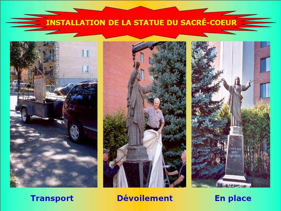Transport Dévoilement En place