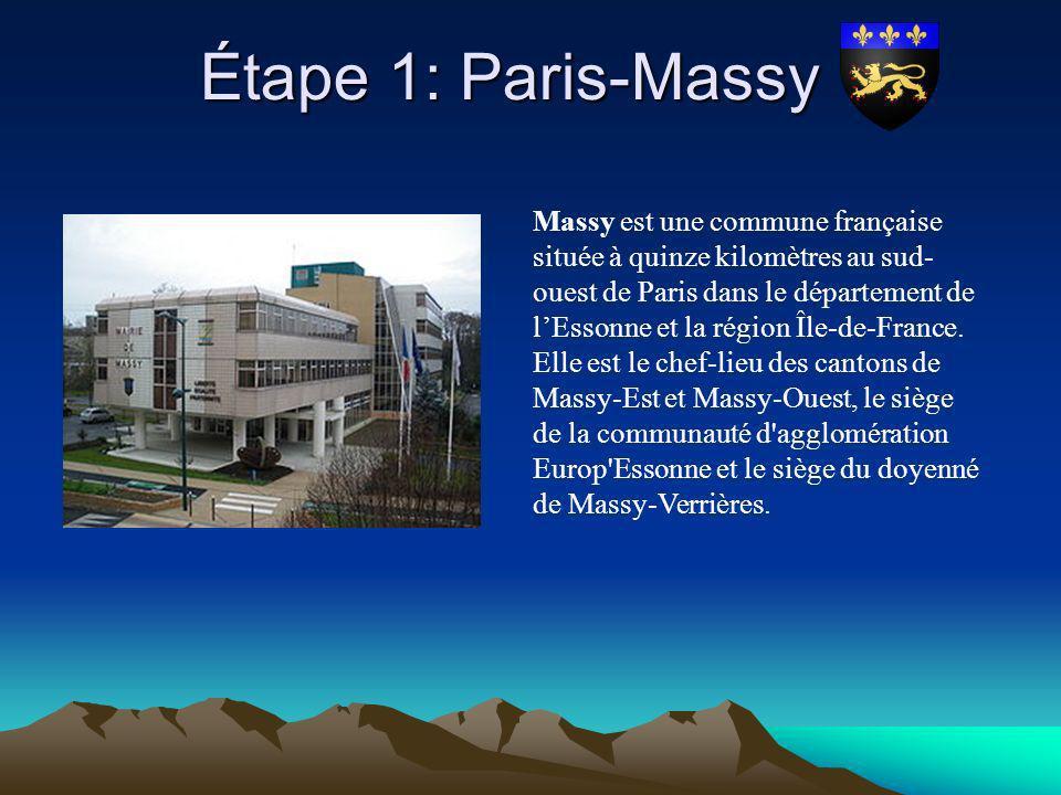 Étape 1: Paris-Massy