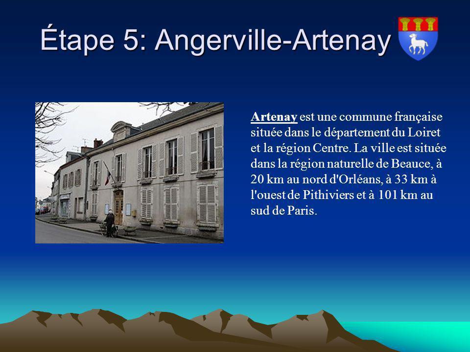 Étape 5: Angerville-Artenay