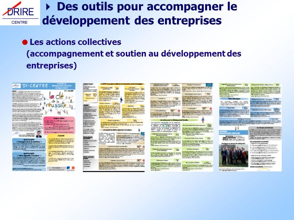  Des outils pour accompagner le développement des entreprises