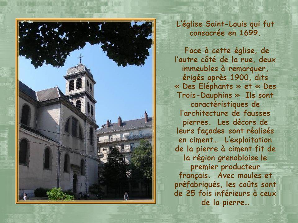 L'église Saint-Louis qui fut consacrée en 1699.