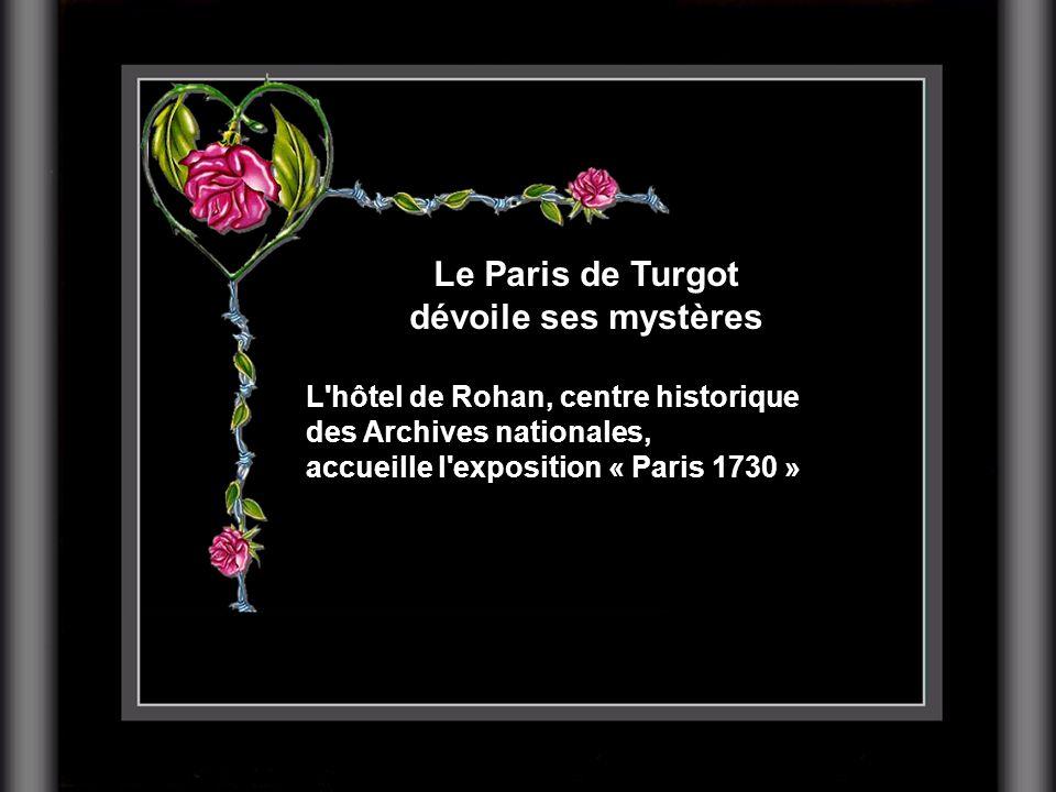 Le Paris de Turgot dévoile ses mystères