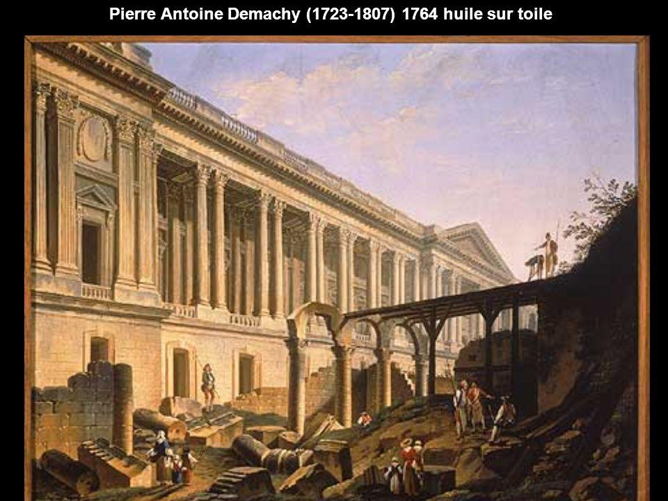 Pierre Antoine Demachy (1723-1807) 1764 huile sur toile