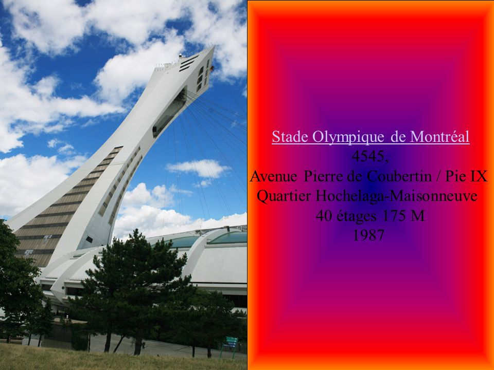 Stade Olympique de Montréal 4545,