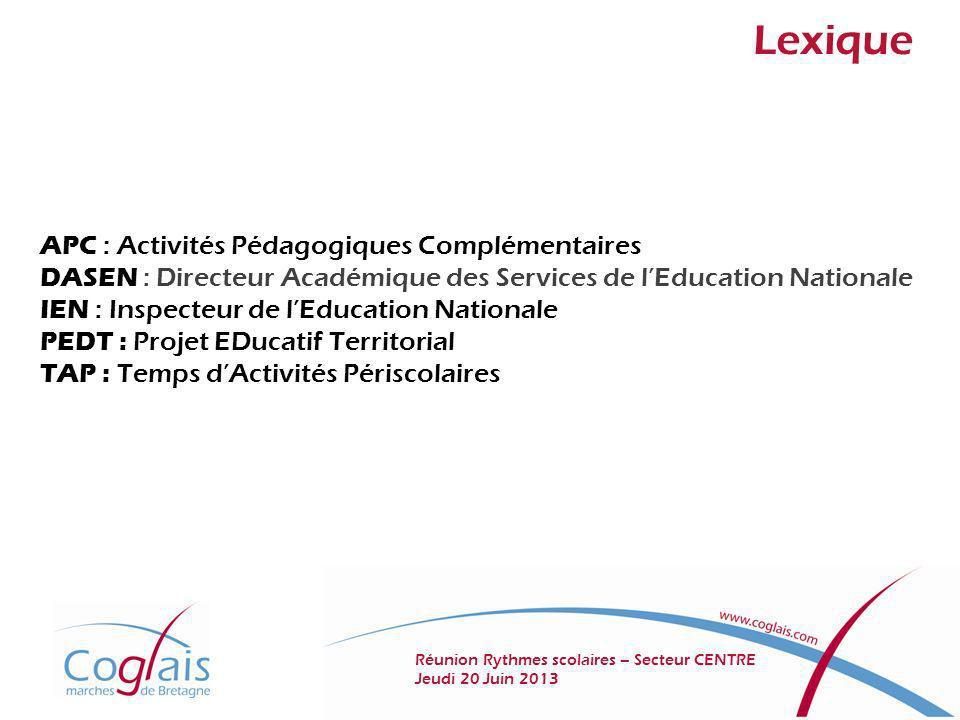 Lexique APC : Activités Pédagogiques Complémentaires