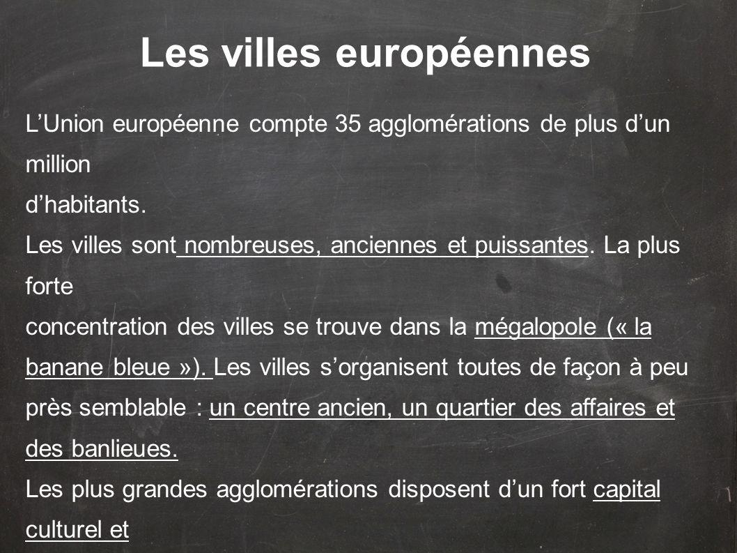 Les villes européennes