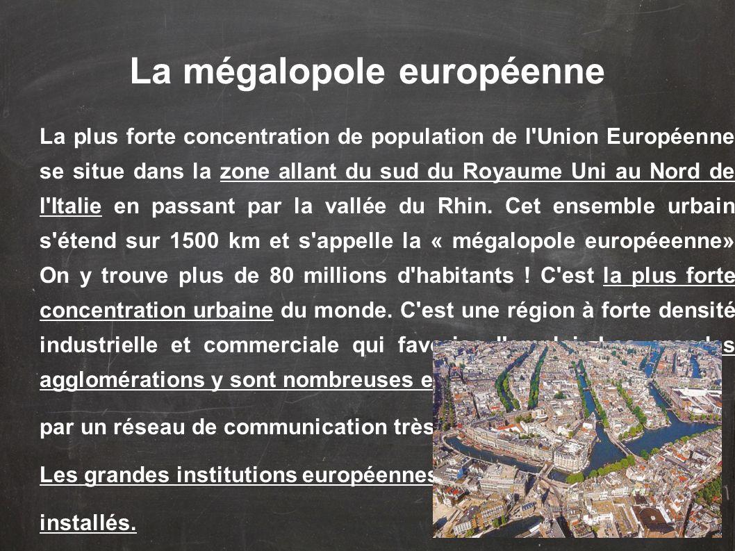 La mégalopole européenne