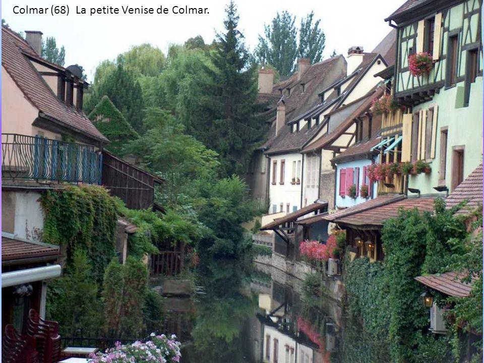 Colmar (68) La petite Venise de Colmar.