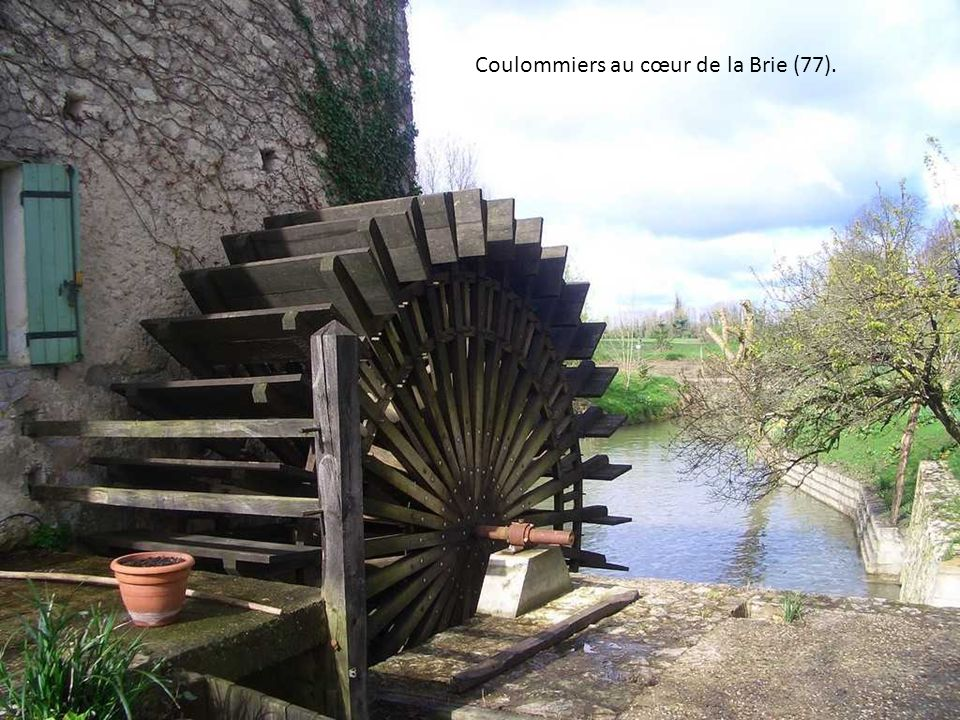 Coulommiers au cœur de la Brie (77).