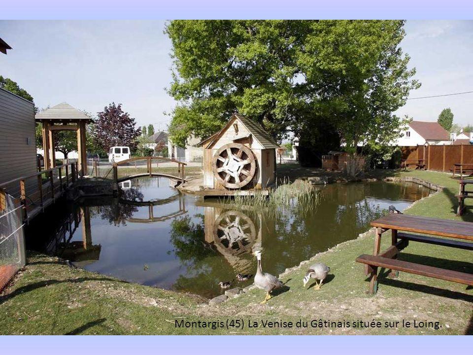 Montargis (45) La Venise du Gâtinais située sur le Loing.