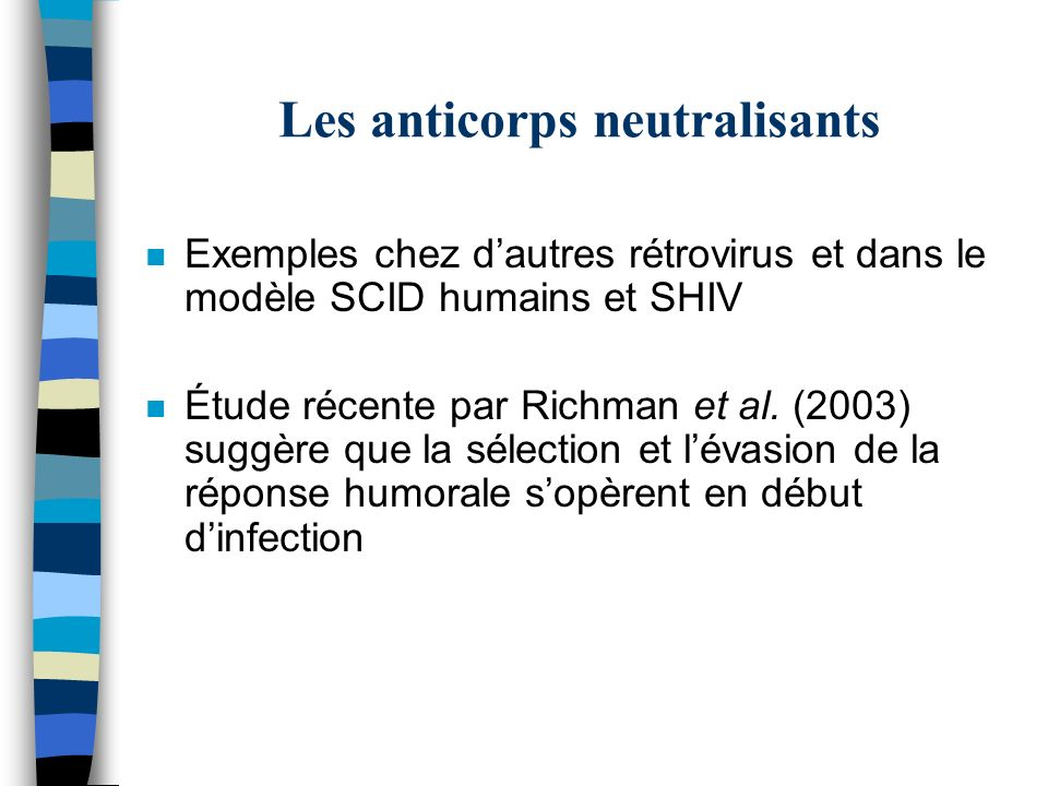 Les anticorps neutralisants