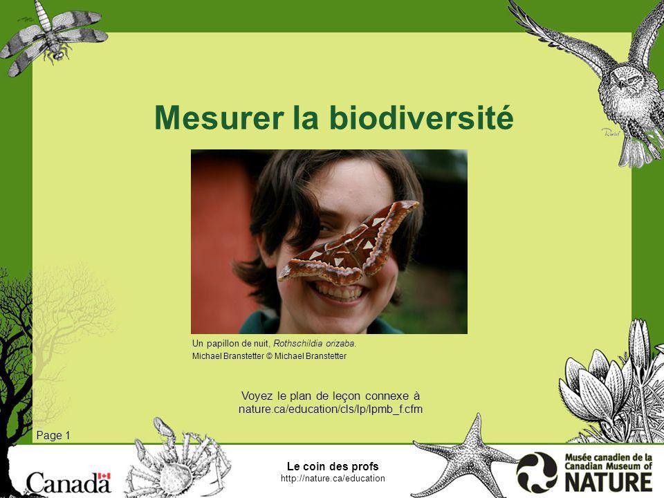 Mesurer la biodiversité