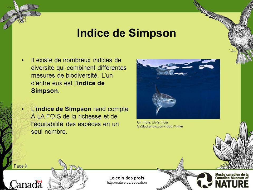 Indice de Simpson