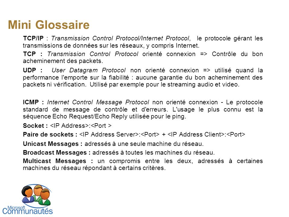 Mini Glossaire