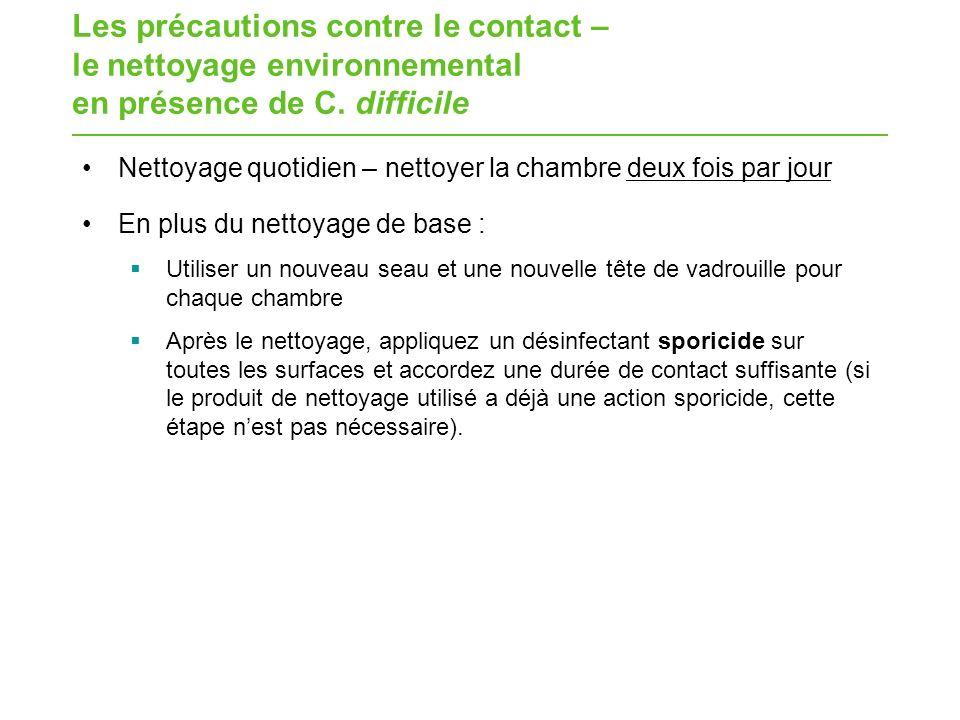 Pratiques exemplaires pour le nettoyage environnemental - Chambre syndicale nationale de l eau de javel ...