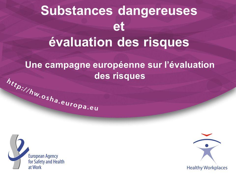 Substances dangereuses et évaluation des risques