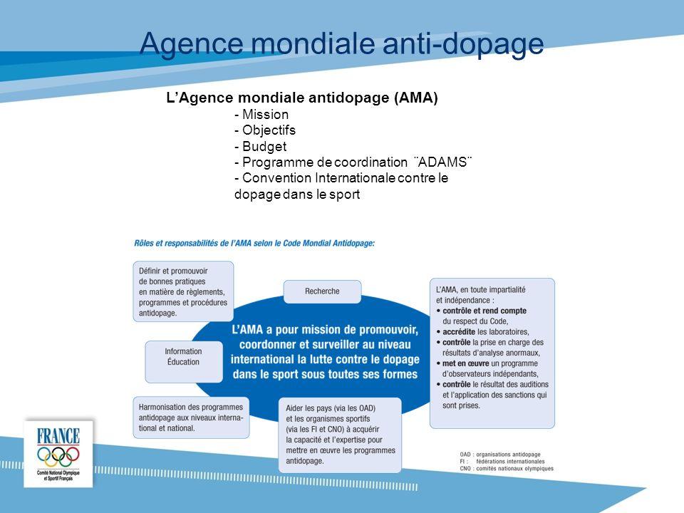 Agence mondiale anti-dopage