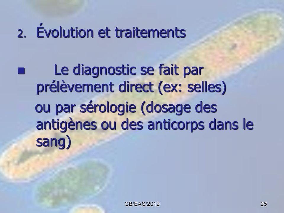 Évolution et traitements
