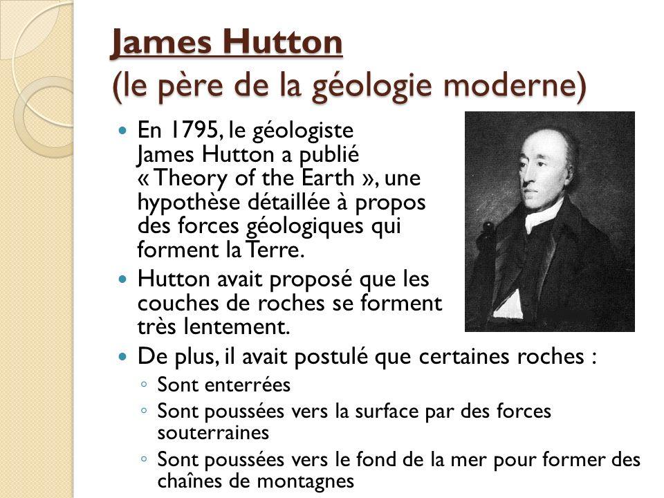James Hutton (le père de la géologie moderne)