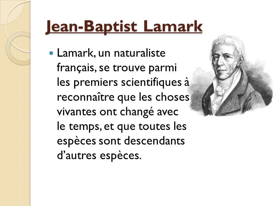 Jean-Baptist Lamark