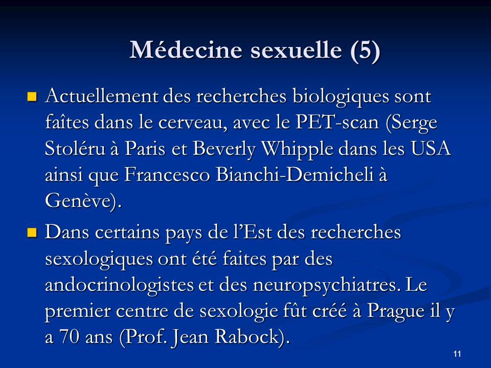 Médecine sexuelle (5)