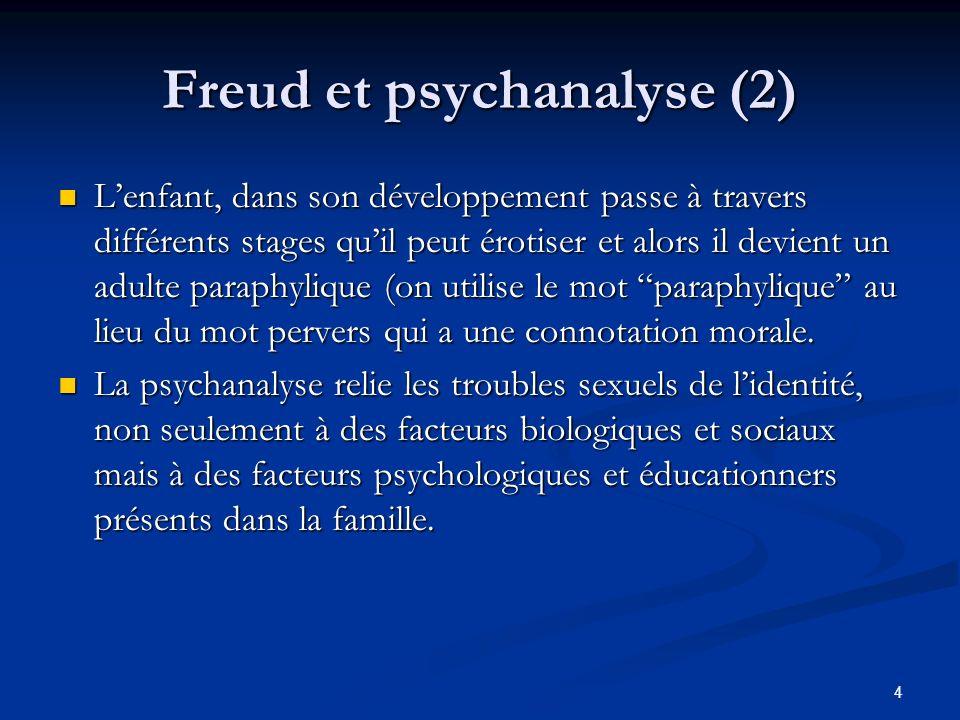 Freud et psychanalyse (2)