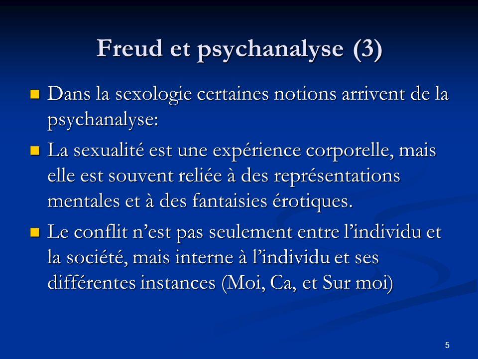 Freud et psychanalyse (3)