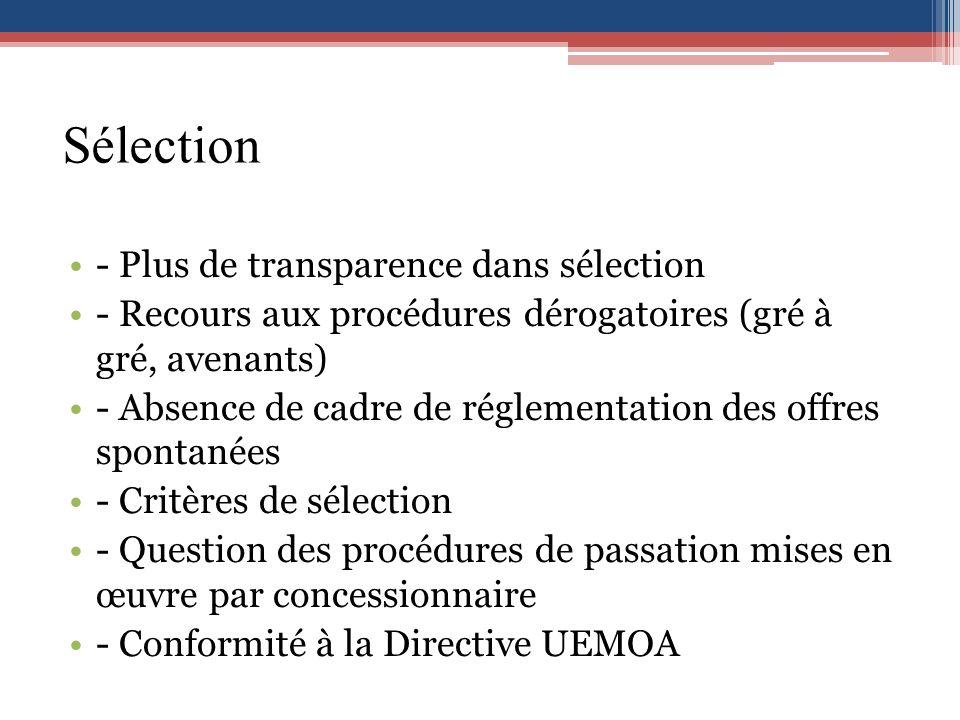 Sélection - Plus de transparence dans sélection