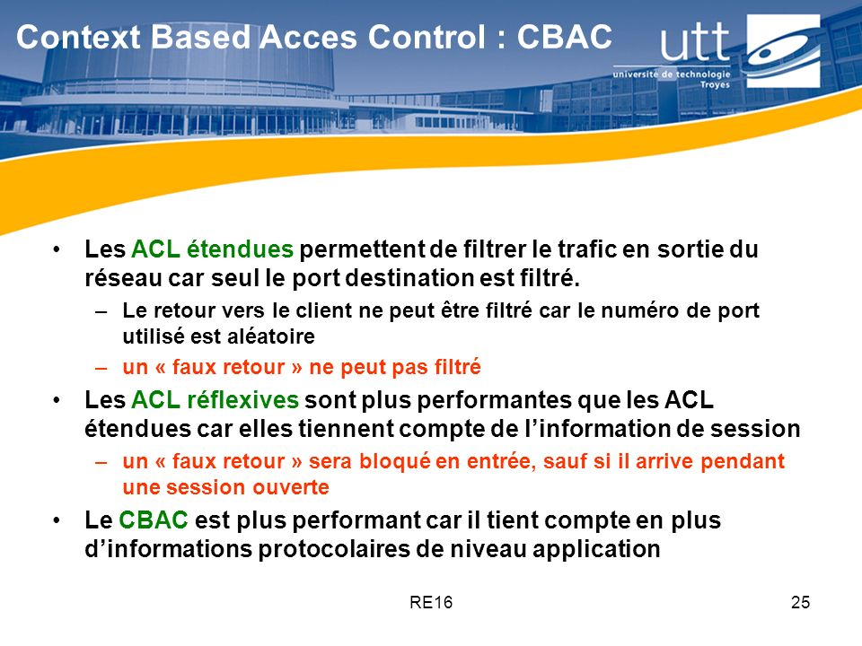 Context Based Acces Control : CBAC