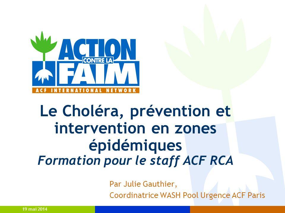 Par Julie Gauthier, Coordinatrice WASH Pool Urgence ACF Paris