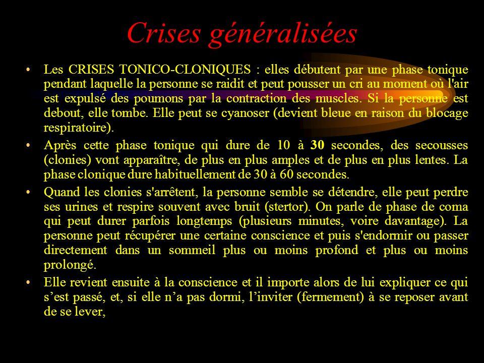 Crises généralisées