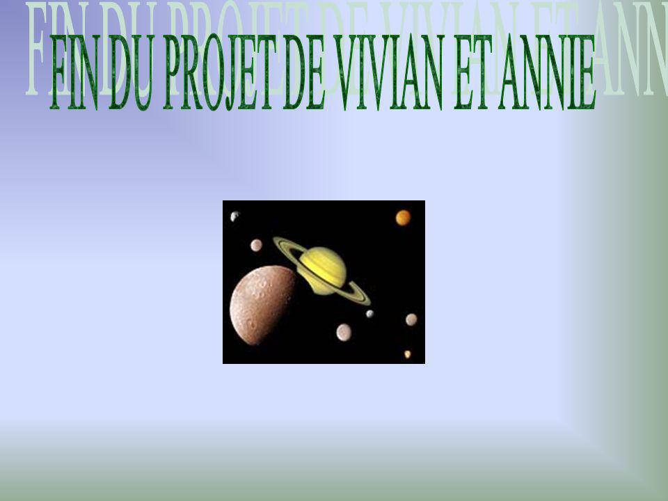 FIN DU PROJET DE VIVIAN ET ANNIE