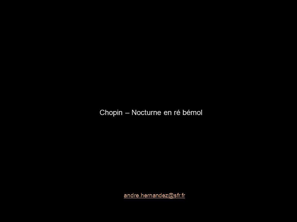 Chopin – Nocturne en ré bémol