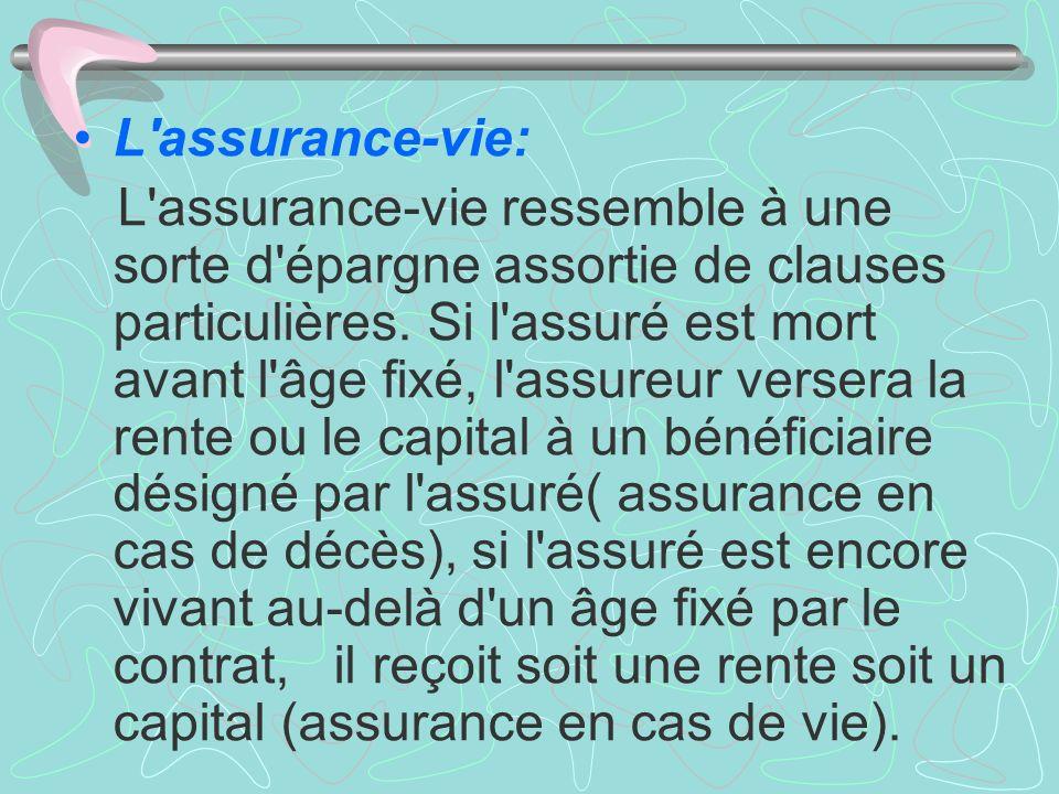 L assurance-vie: