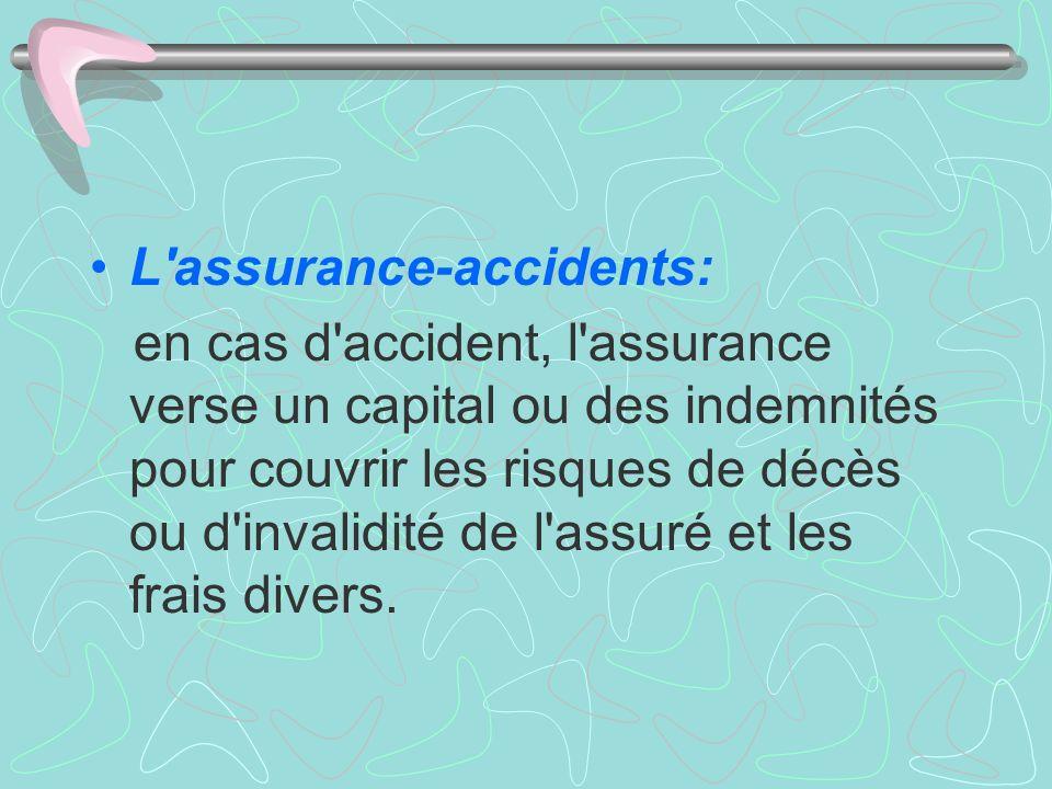 L assurance-accidents: